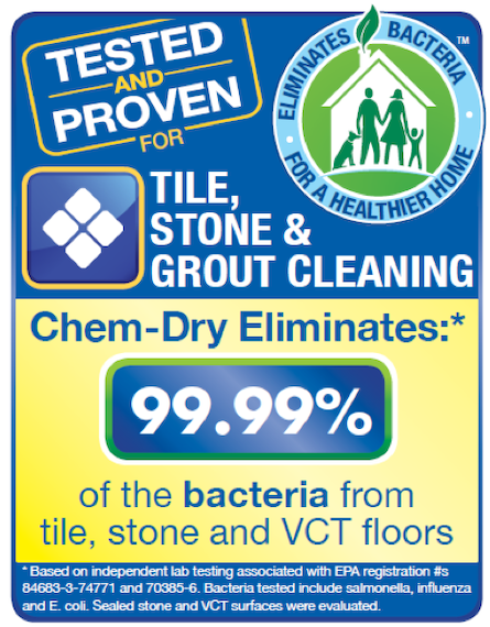 Stone, Tile and Grout Cleaning Provided by Chem-Dry of Tampa